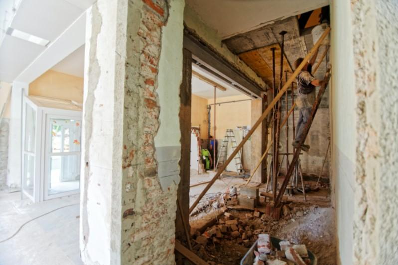 אריזת דירה בקרטונים לפני שיפוץ